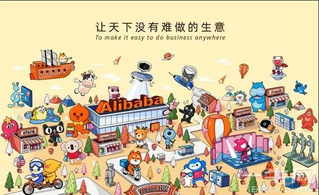 阿里动物园来了新动物:代表着机器人行业